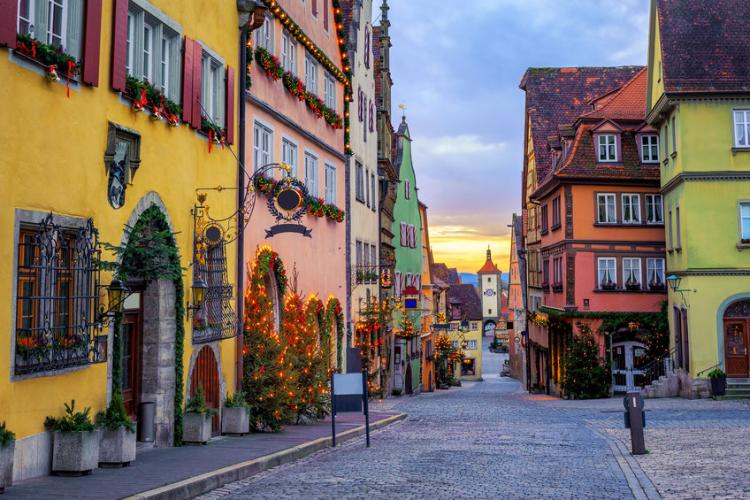 Rothenburg ob der Tauber at Christmas | Photo by Boris Stroujko