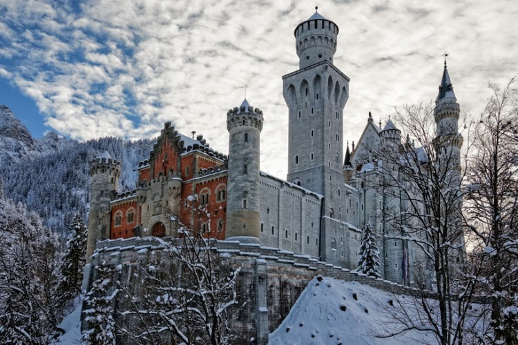Neuschwanstein Castle | Photo by Bernhard Klar via 123RF.