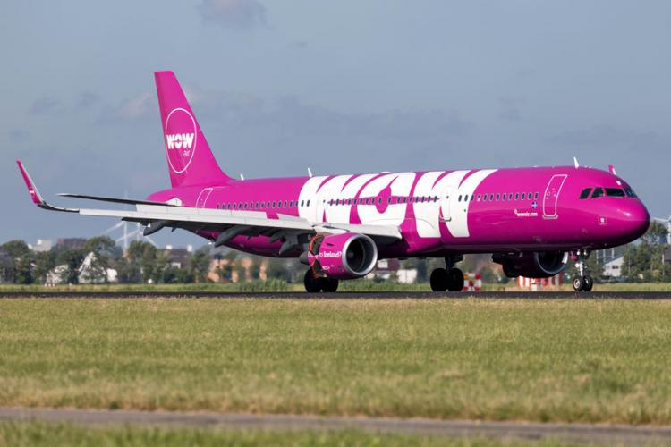 WOW Air Airbus A321-200 | Photo by Bjoern Wylezich
