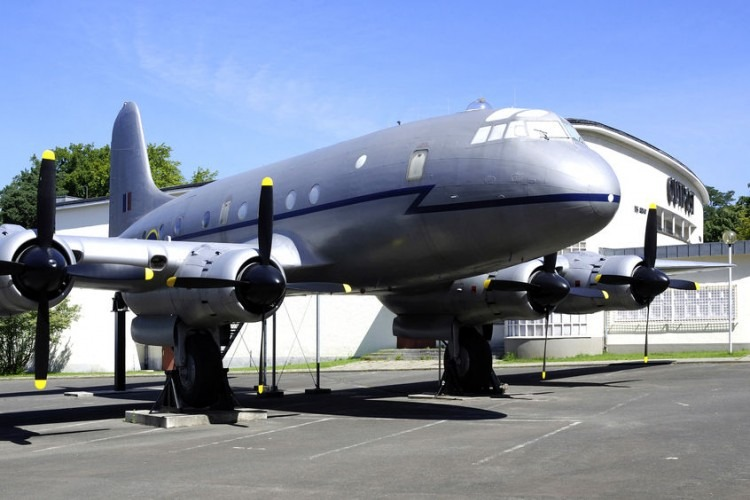 Transport plane from the Berlin Airlift in the Allied Museum at the Clayallee in Berlin | Photo by uhland38  via 123RF