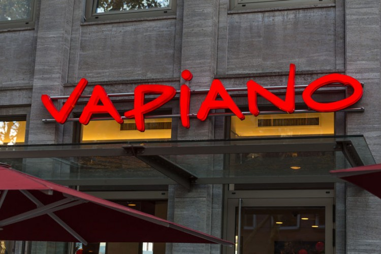A Vapiano restaurant  in Dortmund, Germany. | Photo by  Tobias Arhelger.