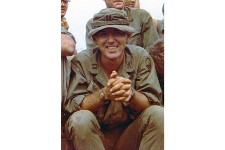 Me in Vietnam With My Troops
