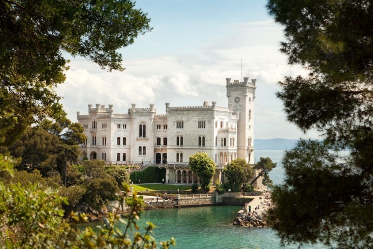Miramare Castle | Photo by jessmine via 123RF.