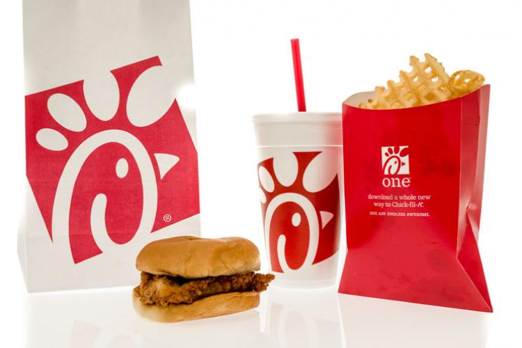 Chick-Fil-A's popular chicken sandwich meal | Photo by Keith Homan
