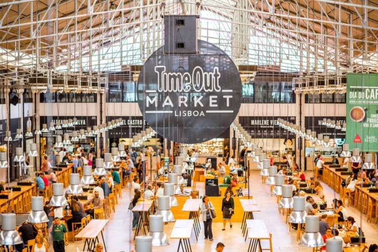 Time Out market in Lisbon, Portugal | Photo by Olena Kachmar via 123RF