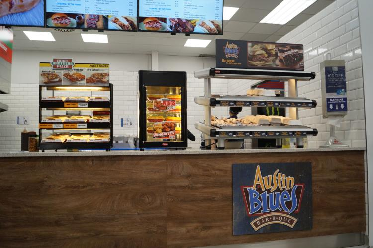 Patrons can now enjoy barbecue at the Baumholder Express. | Photo courtesy of AAFES.
