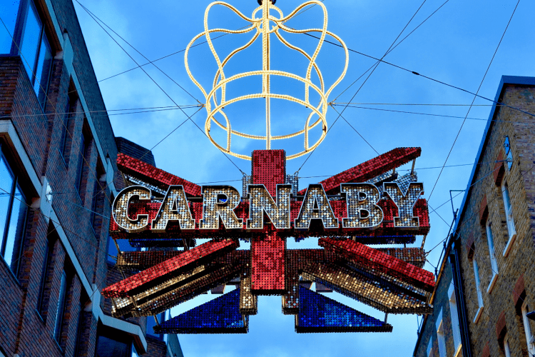 Carnaby Street in London | Photo by Jack Bassingthwaighte