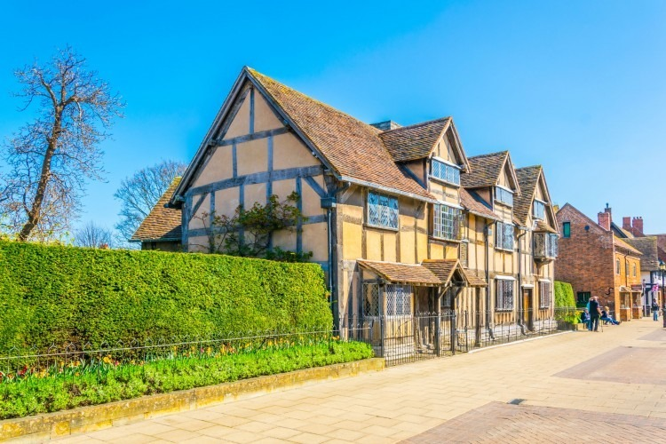 Shakespeare's birth place | Photo by Pavel Dudek