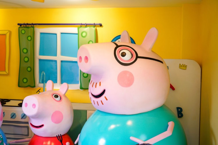 The Peppa Pig World in Hampshire, England. | Photo by alicephoto via 123RF.