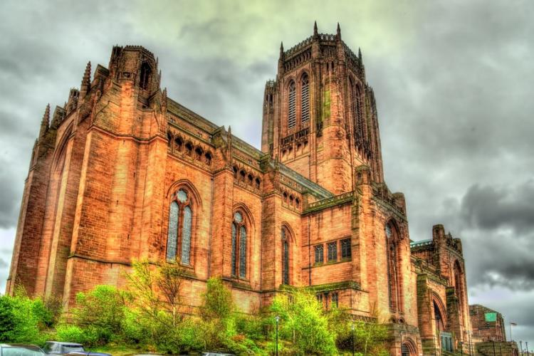 Liverpool Cathedral | Photo by Leonid Andronov