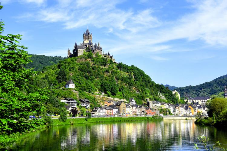 Castle Reichsburg sitting atop Cochem. | Photo by Don Fink