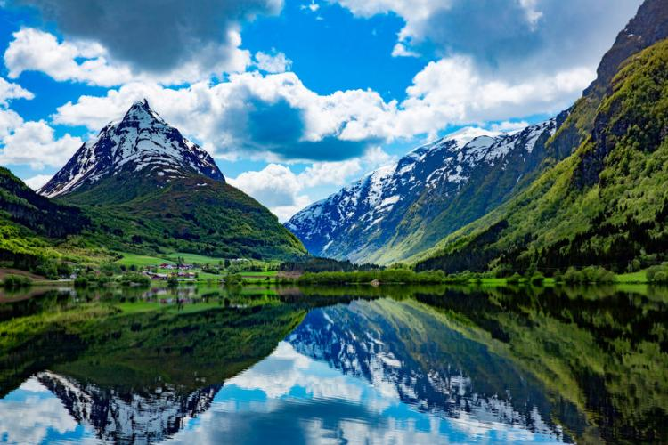 Norway's beautiful fjords