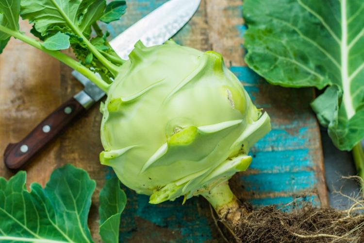 What Is Kohlrabi Nutrition Benefits And Uses Stripes Europe