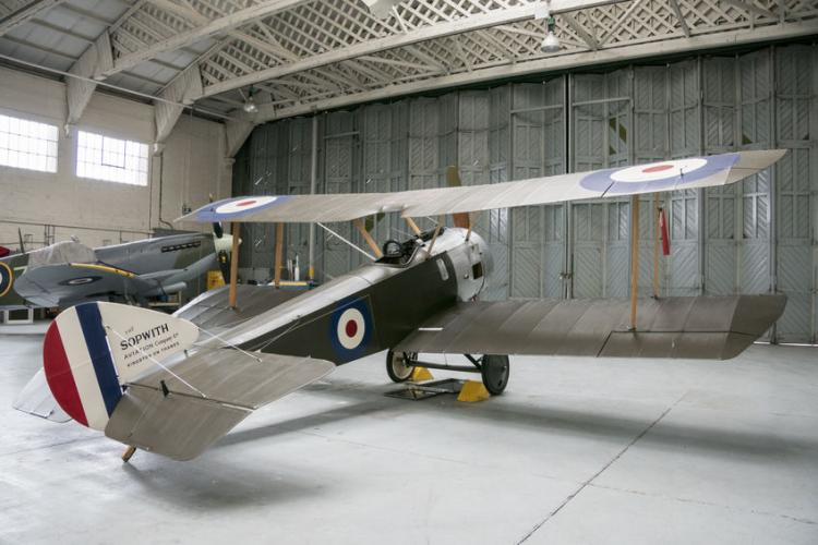 Sopwith Pup aircraft at Imperial War Museum | Photo by Sue Martin