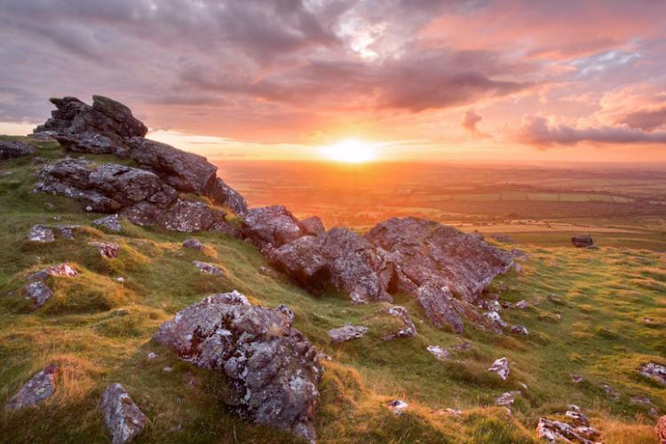 Sunset in Dartmoor National Park | Anna Curnow