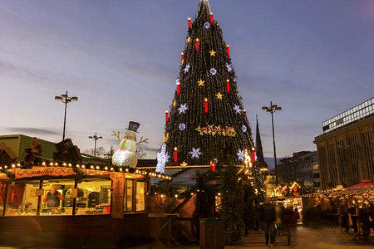 Experience The Dortmund Christmas Market Stripes Europe