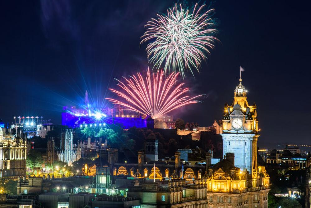 New Year's in Hogmanay