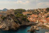 View of gorgeous Dubrovnik